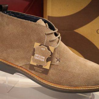 Mens Desert Boots Suede Romsey
