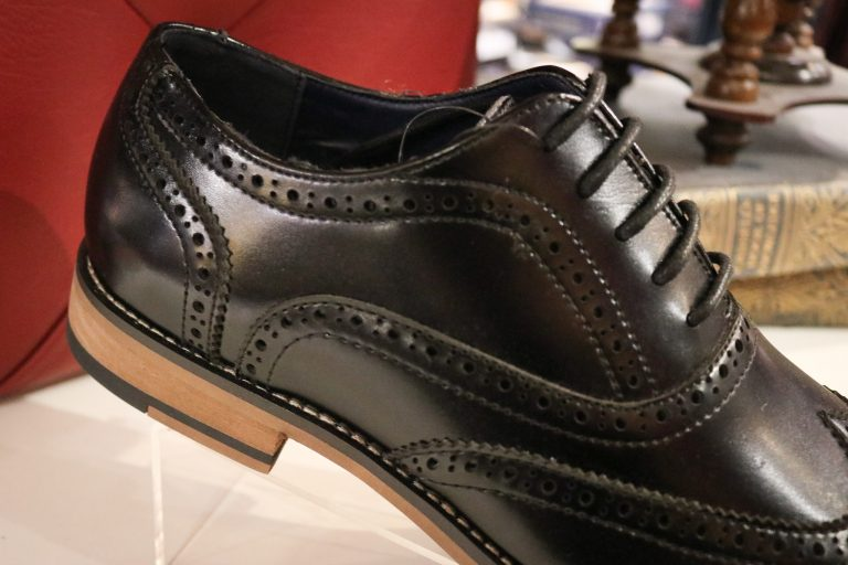 Oxford Black Brogue Shoes Romsey, Hampshire