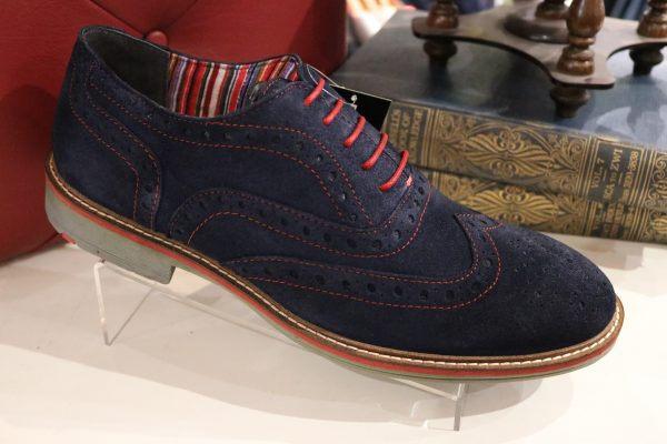 Mens suede shoes in Romsey Hampshire
