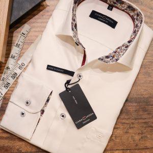 Casa Moda Premium White Shirt with Trim