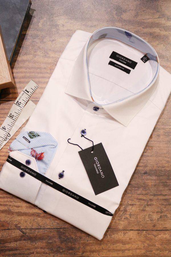 Mens Premium Cotton Shirt with Trim